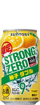 -196℃ ストロングゼロ 〈柚子ダブル〉