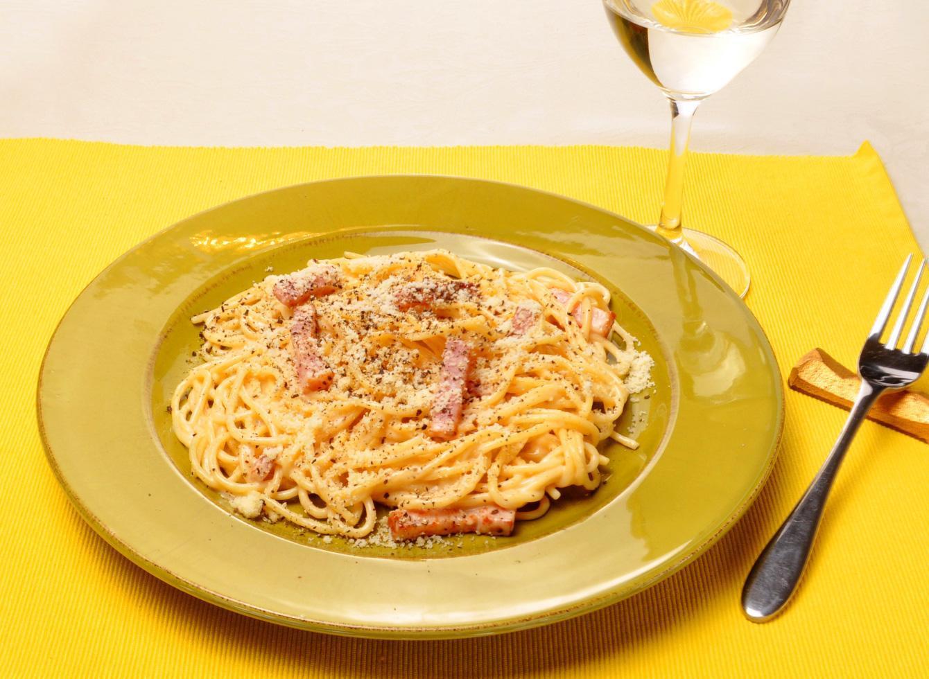 レシピ画像:カルボナーラ