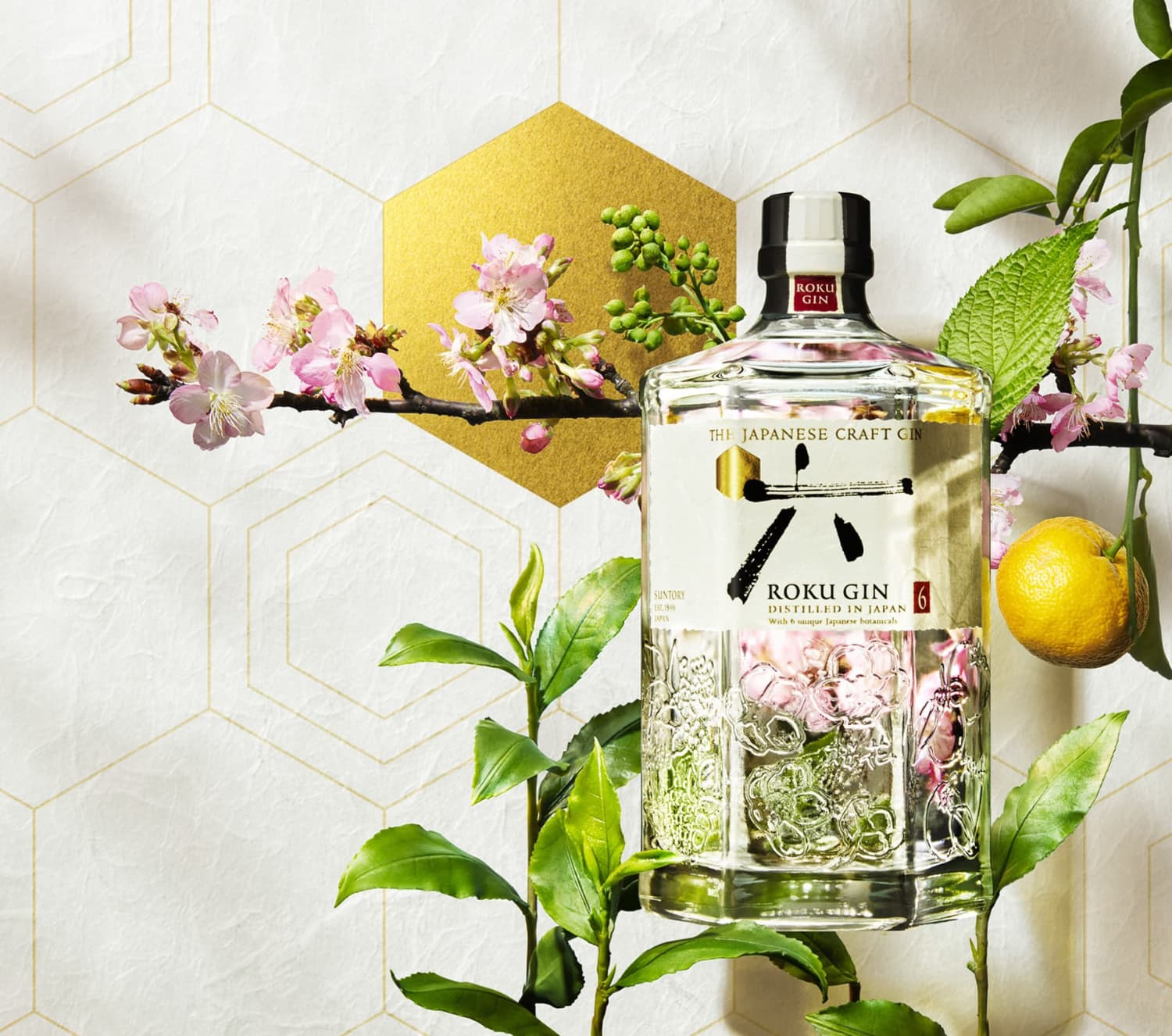 ROKU GIN ALIVE WITH THE SEASON OF JAPAN